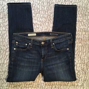 AG Jeans   Stevie Slim Crop   28x23